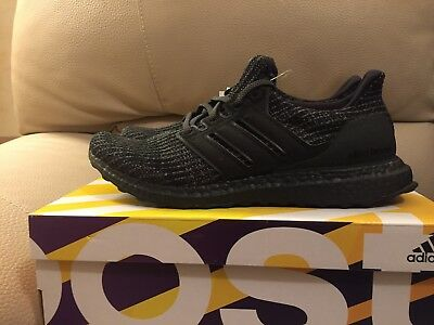 7bfe88221 Adidas Ultraboost 4.0 Triple Black EU 42 2 3 UK 8.5 US 9Ultra Boost BB6171