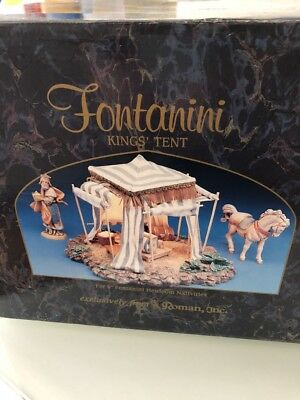 FONTANINI Kings Tent for 5 inch figures Christmas nativity decoration with box