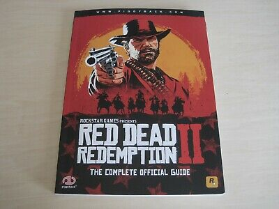 Red Dead Redemption 2 II The Complete Official Strategy Guide Book PS4 Xbox One