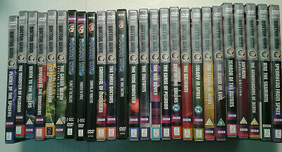 Doctor Who CLASSIC DVDs REGION 2 PAL + REGION 1 PICK A LOT Complete Jon Pertwee