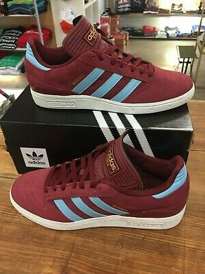 02a092ce ADIDAS BUSENITZ (COLLEGIATE Burgundy/Clear Blue/White) Men's Skate ...