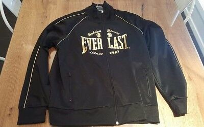 Everlast Mens Jacket Size Large Golden Gloves New With Tags