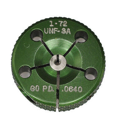 1-72 UNF-3A ~ Thread Ring Gage - GO ONLY - 0.073 - 72 TPI  -  DoAll