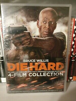 Die Hard: The Ultimate Collection [Bruce Willis] 4-Movies Pack, DVD, 4-Disc Set