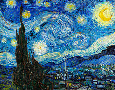 Starry Night by Vincent van Gogh Print