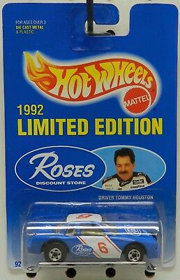 Nascar Busch 1991 Buick Roses Race Car 6 Promo 1992 Tommy Houston Hw Hot Wheels