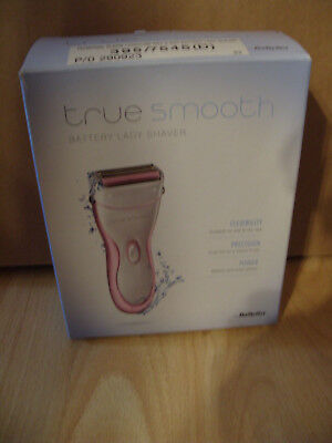 Babyliss True Smooth Battery Operated Wet and Dry Lady Shaver - New c470