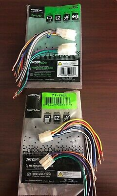 Enjoyable Metra 70 1761 Also Toyota Wiring Harness On Details About Metra 70 Wiring 101 Relewellnesstrialsorg