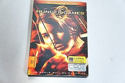 The Hunger Games 2 Disc Dvd 2012-Dvd