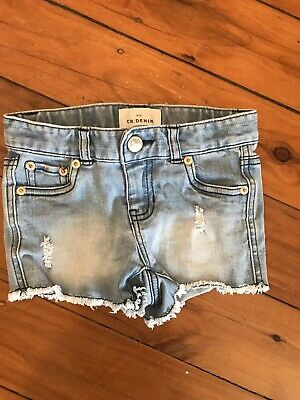 country road Size 4 Girls Denim Shorts