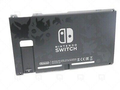 Pikachu Case rear Cover Panel frame for NSX Nintendo switch Console Replacement
