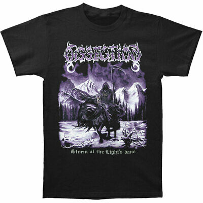 Dissection Men's  Storm Of The Lights Bane T-shirt Black