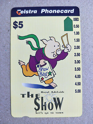 Mint $5 The Royal Adelaide Show Phonecard Prefix 1241