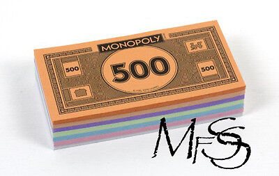 Monopoly Money Pack Full Refill Official Hasbro Board Game  *  Brand New