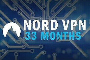 NordVPN Premium | 33 MONTHS Subscription | 33 MONTHS Warranty | Nord VPN account