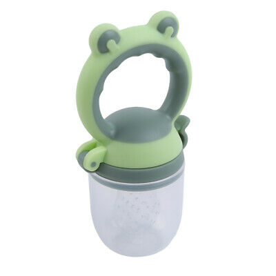 Infant Pacifier Fresh Food Fruit Bite Nipple Teether Baby Safe Feeding Tool AT