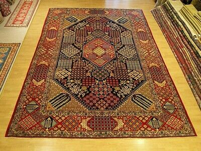 10 x 14 Handmade Fine Quality Antique Persian Oriental Wool Rug_Beautiful Colors
