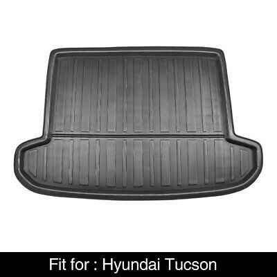 Black Rear Trunk Boot Liner Cargo Mat Floor Tray for Hyundai Tucson 16-18
