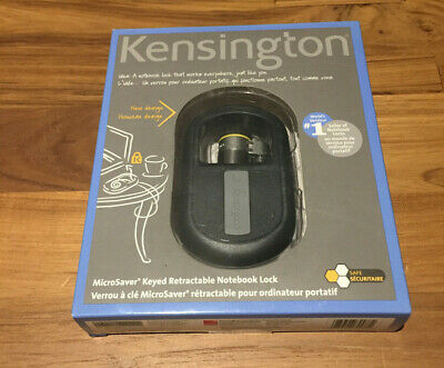Kensington MicroSaver 8589664538 Keyed Retractable Notebook Lock