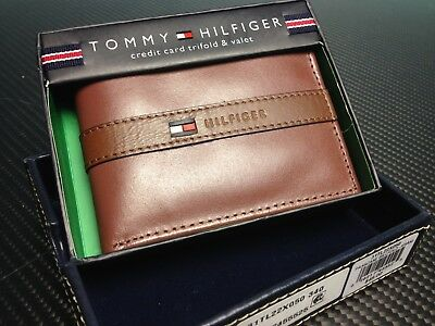 8d263be10d2 Tommy Hilfiger Men's Ranger Leather Passcase Wallet with Removable Card  Holder