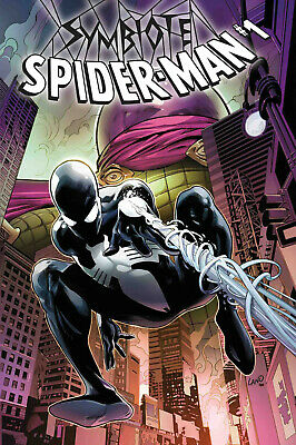 Symbiote Spider-Man #1 Land Cover Varaint Marvel Comics Peter Parker