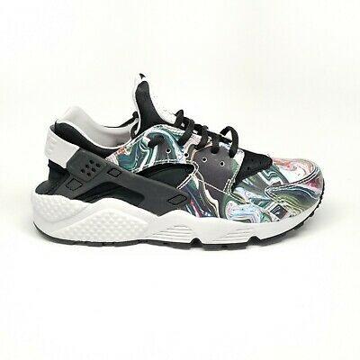 8f44b305ae84 Nike Air Huarache Run Premium Sneaker in Black Vast Grey Women s Size 7.5