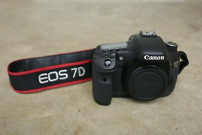 GREAT Canon EOS 7D Digital SLR Camera 18 MP (Body Only)