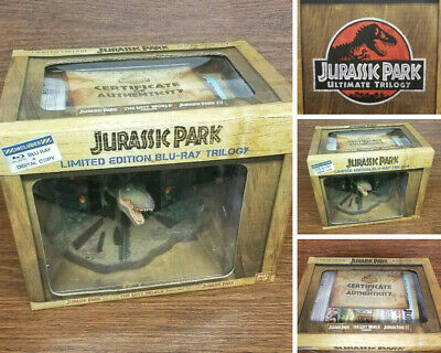 Jurassic Park Limited Edition Blu-Ray Trilogy Gift Set Home Theatre Collectible