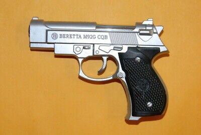 Beretta M92G CQB Shaped Novelty Pistol Gun Jet Torch Lighter USA California