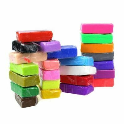 24 x Soft Polymer Clay Oven Bake Sculpting Kids Educational Toys Modelling Clay