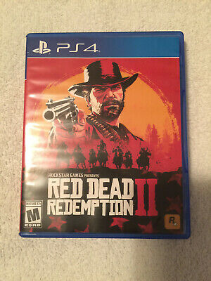Red Dead Redemption 2 - RDR2 - Playstation 4 PS4 - Adult Owned