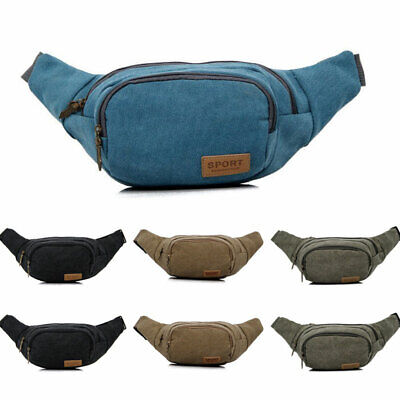 Sports Fanny Belly Waist Bum Bag Fitness Running Jogging Cycling Belt Pouch Pack
