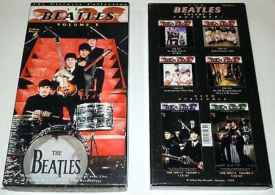 The Beatles - The Ultimate Collection Vol. 3 Yellow Dog Box 4CD Box Set RARE