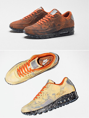 hot sale online 11785 d7864 SHIP NOW Nike Air Max 90 QS Mars Landing 5c-13 Stone Magma Orange CD0920