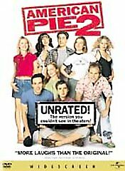 American Pie 2 (DVD, 2002, Unrated  Widescreen Edition)