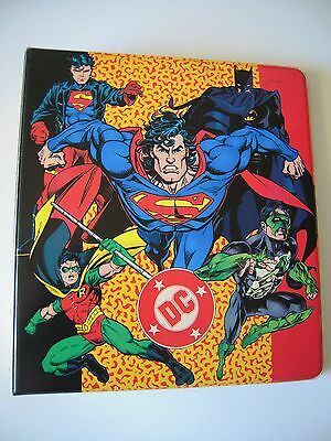 Dc  Comics  Trading Cards Binder Capacite Pour Plus De 180 Cards Be