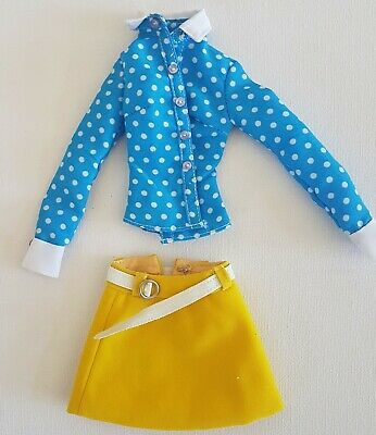 Skirt and shirt for 16 inch fashion dolls