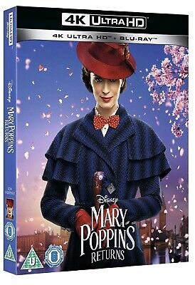 Mary Poppins Returns (Bluray 4K) Uhd PRE ORDER