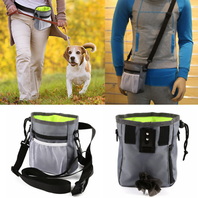 Dog Outdoor Walk Treat Training Pouch Lightweight Portable Pet Puppy Snack Bag