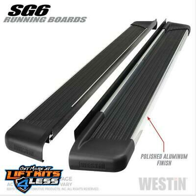 Westin 27-64720 Polished SG6 Running Boards for 2004-2012 Chevrolet Colorado