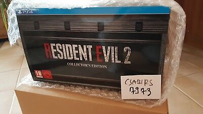 Resident Evil 2 Remake Collectors Edition Playstation 4,ps4