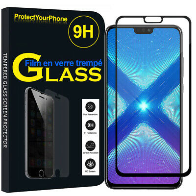 Vitre De Protection Écran Film Verre Trempe Huawei Honor 8X 6.5""