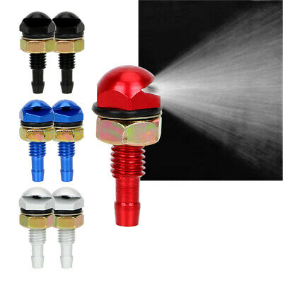 Universal Metal Car Spray Nozzle Jet Sprayer Front Windshield  Wiper Washer