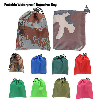 New Multicolor Organizer Bag Fits 20-80L Backpack Rain Cover Portable Waterproof