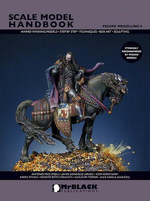Mr Black Publications Scale Model Handbook:Figure Modelling (6) Paperback Book