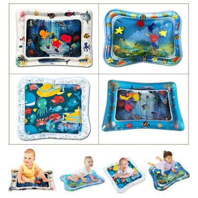 Inflatable Fun Water Play Mat for Kids Baby Children Infants Best Tummy Time hhh