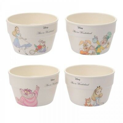 New Disney Store Japan Bowl Alice in Wonderland Alice Plants from Japan F/S