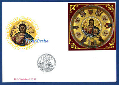 FDC EPARCHIE LUNGRO ITALO ALBANER VATIKAN 2018 EPARCHY VATICAN First Day Cover