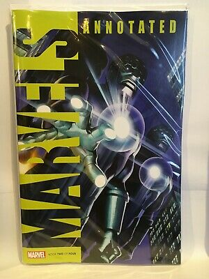 Marvels Annotated #2 NM- 1st Print Marvel Comics 2019