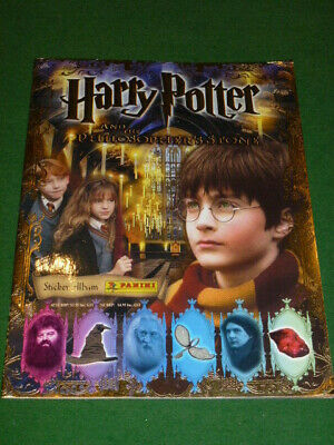 Panini Harry Potter And The Philosopher's Stone Incomplete Sticker Album